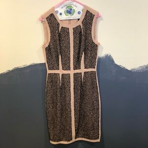 BCBG Black Lace Pink Dress